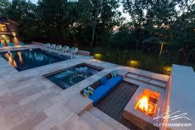 Pool Landscape Design Kurt Kraisinger Shawnee Wooded Retreat