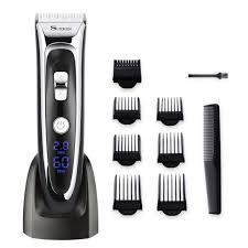 Tông đơ cắt tóc cao cấp SURKER cắt siêu êm - Máy cạo râu Hãng Surker