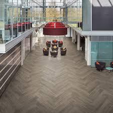 office tile flooring. LLP308 French Grey Oak Office Flooring - LooseLay Longboard Tile