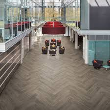 office flooring tiles. LLP308 French Grey Oak Office Flooring - LooseLay Longboard Tiles
