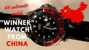 "$16 ""<b>Winner</b>"" Automatic <b>Watch</b> From China - A <b>Winner</b> Or Garbage ..."