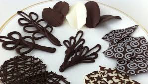 how to make chocolate garnishes decorations tutorial PART 2 how to cook  that ann reardon - YouTube