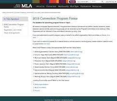 Mla Guidelines 2020 Quick Tour Session Proposal Form Modern Language Association