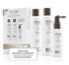 Nioxin Systems 1 Thru 8