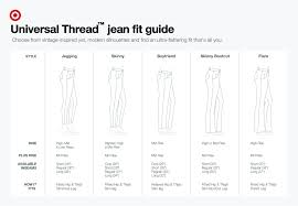 Miraclebody Jeans Size Chart 74 Uncommon Thigh Size Chart For Jeans