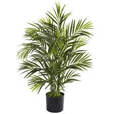 Nearly Natural Areca Palm Tree in Pot & Reviews | Wayfair