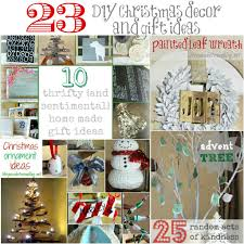 diy christmas decor and gift ideas