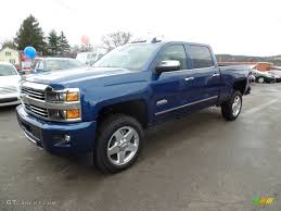 Deep Ocean Blue Metallic 2015 Chevrolet Silverado 2500HD High ...