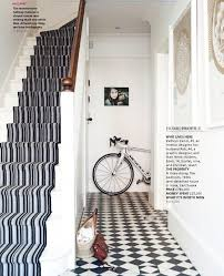 black and white floor runner gallery images of rug