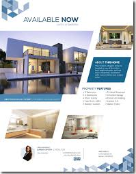 new year real estate flyers