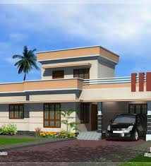 Impressive Exterior House Design One Floor Kerala Single Designs Plans Mexzhouse Inside Ideas