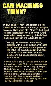 alan turing life and the imitation game  alan mathison turing obe frsa was born in maida vale london on 23 1912 after leaving sherborne school turing studied at king s college