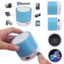 Loa Bluetooth mini tích hợp đài FM có đèn LED | Loa Bluetooth