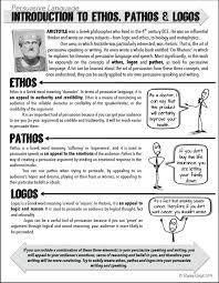 best writing tips images english language  ethos pathos logos worksheet julius caesar worksheets