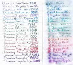 29 Interpretive Iroshizuku Ink Color Chart