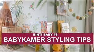 Babykamer Inrichten Met Prachtig Jungle Behang Binti Baby 6 Binti Home