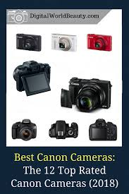 Best Canon Cameras For 2018 The 12 Top Rated Canon Digital