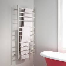 towel rail. The Ultimate Comfort On A Chilly Morning Or Any Time, This 11-rail Heated Towel Rack Offers An Everyday Extravagance.924478Signature Hardware Rail