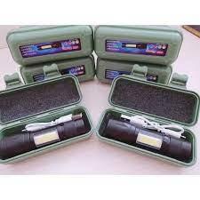 Đèn pin siêu sáng MINI móc cài, đèn led bỏ túi ,sạc cổng usb ,có zoom có  led chớp , nhiều chế độ đèn   Tri Kỷ