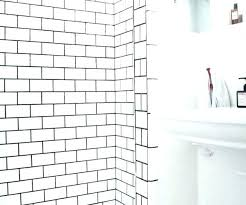 grout size subway tile with black grout subway tile grout size medium size of