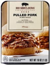 big shoulders in bbq sauce pulled pork