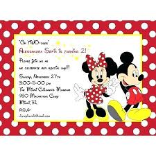 Mickey Mouse Party Printables Free Mickey And Birthday Invitations Inside Template Minnie Mouse Party