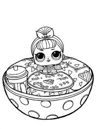 Ammcobus Showbaby Lol Doll Coloring Page