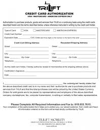 form templates credit card awesome authorization hilton one time pdf
