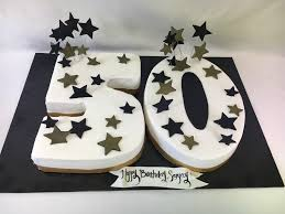 50th 30th 40th 60th Birthday Cake Mb 103 Confection