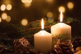Image result for christmas candles