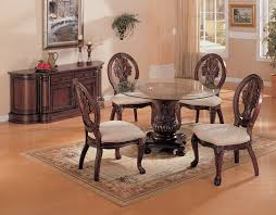 Awesome Round Glass Dining Table Set With Unique Chairs And Small - Dining room rug round table