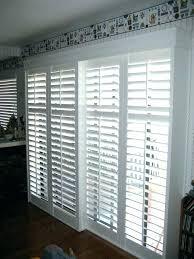 unique patio door shutteredium size of glass plantation for sliding doors cellular blinds s