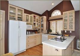 image of popular whitewash kitchen cabinets