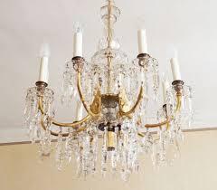 cut crystal chandelier from j l lobmeyr 2