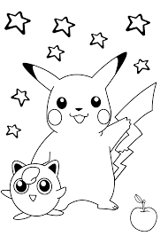 Small Picture Smiling Pokemon coloring pages for kids printable free Coloring