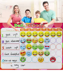 Oem Magnetic Chores Chart Dry Erase Board Wall Sticker Kids Weekly Planner To Do List Reward Chart For Kids Buy Weekly Planner Board Notice Boards