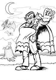 Small Picture Vampires Coloring Pages GetColoringPagescom