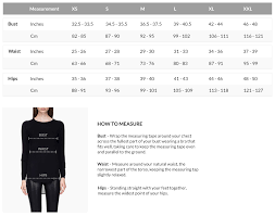 Womens Blazer Size Chart Size Guide Find Your Best Fit Rudsak