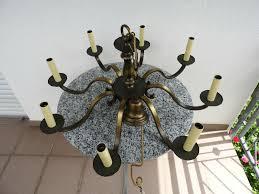 Aus Hängellampe Kronleuchter Massiv Deckenlampe Sechsflammig