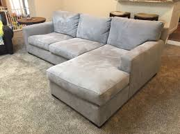 home 2 pictures crate barrel. Crate Barrel Axis Ii 2 Piece Sectional Sofa In Nickel Paid Full Price Home Pictures