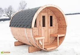 Sauna Du0027Extérieur Barrel 250 (Poêle En Option)