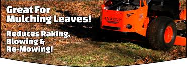 great for mulching leaves