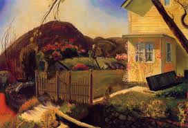the picket fence 1924 george bellows oil painting