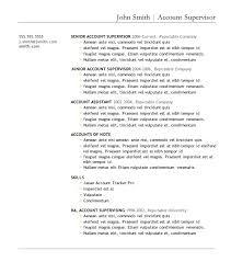 purchase supervisor resume supervisor resume templates