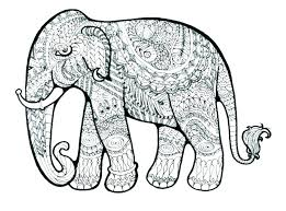 Hard Animal Coloring Pages Complicated Animal Coloring Pages Many