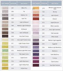 Dmc Color Chart And Numbers Dmc 6 Strand Floss The Silver Needle Fine Needlecraft