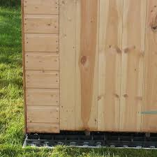 ecobase fastfit heavy duty shed