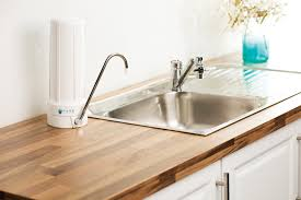 bench top water filter system
