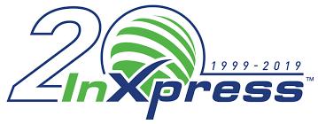 20 year inxpress logo png