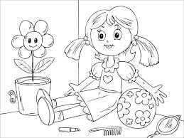 Tranh tô màu cho bé 3 tuổi - Tranh tập tô cho trẻ mẫu giáo - VnDoc.com